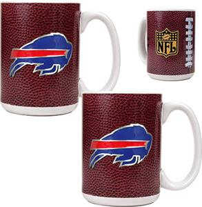 NFL Buffalo Bills Gameball Mug (Set of 2)