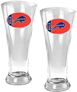 NFL Buffalo Bills 2 Piece Pilsner Glass Set