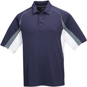 TRI MOUNTAIN Thunder Ultra Cool Pique Polo