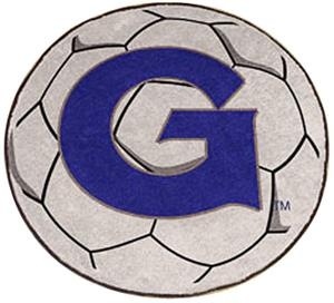 Fan Mats Georgetown University Soccer Ball Mat