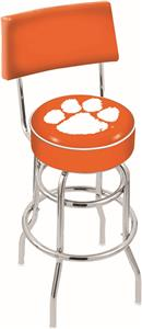 Holland Clemson Double-Ring Back Bar Stool