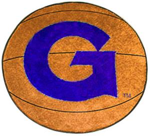 Fan Mats Georgetown University Basketball Mat