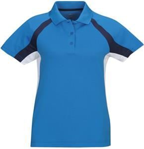 TRI MOUNTAIN Lady Thunder Ultra Cool Pique Polo