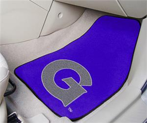 Fan Mats Georgetown Univ Carpet Car Mats (set)