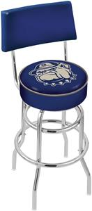 Georgetown University Double-Ring Back Bar Stool