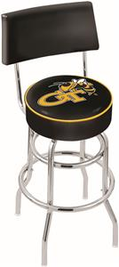 Georgia Tech Double-Ring Back Bar Stool