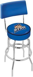Grand Valley State Univ Double-Ring Back Bar Stool