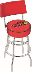 Illinois State Univ Double-Ring Back Bar Stool