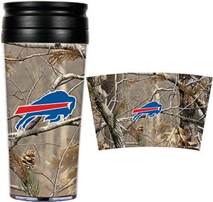 NFL Buffalo Bills 16oz Realtree Travel Tumbler