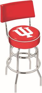 Indiana University Double-Ring Back Bar Stool