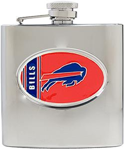 NFL Buffalo Bills 6oz Stainless Steel Flask