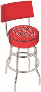 N. Carolina State Univ Double-Ring Back Bar Stool