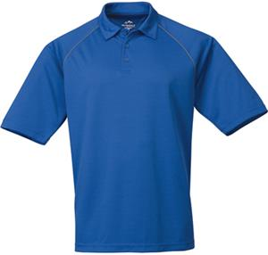 TRI MOUNTAIN Dauntless Ultra Cool Polo w/Piping