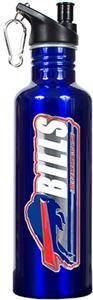 NFL Buffalo Bills Blue Stainless Water Bottle