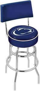 Pennsylvania State Univ Double-Ring Back Bar Stool