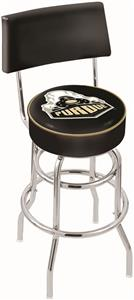 Purdue Double-Ring Back Bar Stool