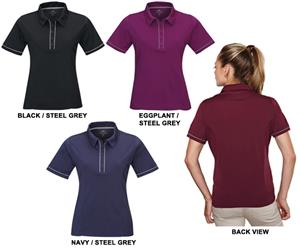 TRI MOUNTAIN Splice Women&#39;s Ultra Cool Polo w/Trim