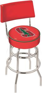 Stanford University Double-Ring Back Bar Stool