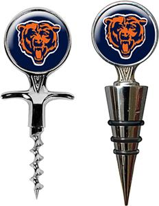 NFL Chicago Bears Cork Screw & Bottle Topper