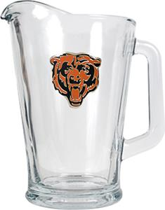 NFL Chicago Bears 1/2 Gallon Glass Pitcher
