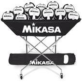 Mikasa Collapsible Hammock 24 Ball Volleyball Cart
