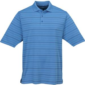 TRI MOUNTAIN Manchester Ultra Cool Striped Polo