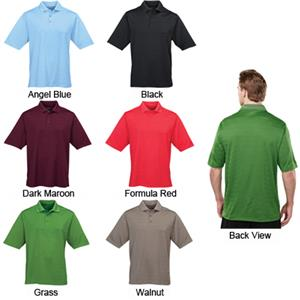 TRI MOUNTAIN Continental Ultra Cool Textured Polo