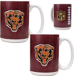NFL Chicago Bears Gameball Mug (Set of 2)