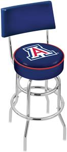 University of Arizona Double-Ring Back Bar Stool