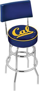 University California Double-Ring Back Bar Stool