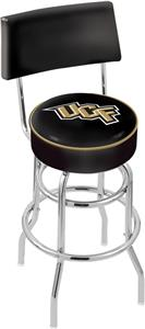 Univ of Central Florida Double-Ring Back Bar Stool