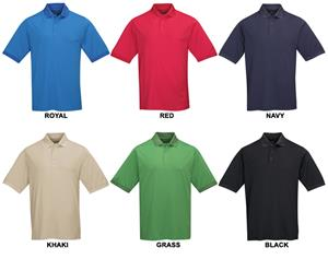 TRI MOUNTAIN Falcon Ultra Cool Textured Polo
