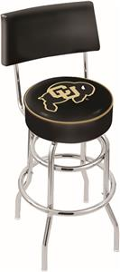 University of Colorado Double-Ring Back Bar Stool
