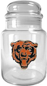 NFL Chicago Bears Glass Candy Jar