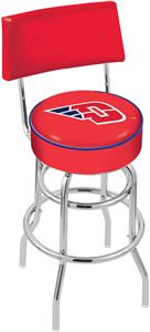 University of Dayton Double-Ring Back Bar Stool