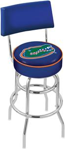 University of Florida Double-Ring Back Bar Stool