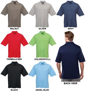 TRI MOUNTAIN Dawson Ultra Cool Polyester Polo