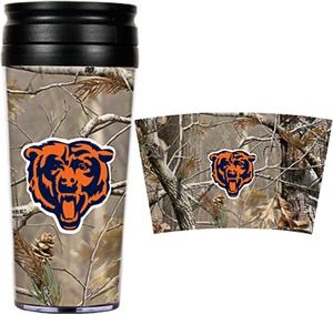NFL Chicago Bears 16oz Realtree Travel Tumbler