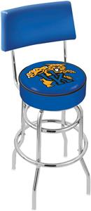 "Univ of Kentucky ""Cat"" Double-Ring Back Bar Stool"