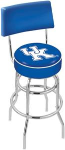 "Univ of Kentucky ""UK"" Double-Ring Back Bar Stool"