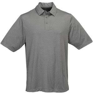 TRI MOUNTAIN Spades Diamond Pattern Polo