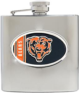 NFL Chicago Bears 6oz Stainless Steel Flask