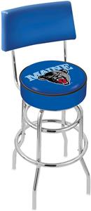 University of Maine Double-Ring Back Bar Stool