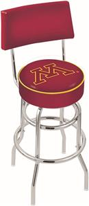University of Minnesota Double-Ring Back Bar Stool