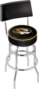 University of Missouri Double-Ring Back Bar Stool