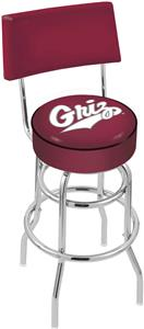 University of Montana Double-Ring Back Bar Stool