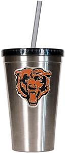 NFL Chicago Bears 16oz Tumbler with Straw
