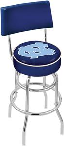 Univ of North Carolina Double-Ring Back Bar Stool