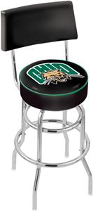 Ohio University Double-Ring Back Bar Stool