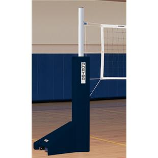 Powr-Trak Portable Volleyball End Standards w/ Pad